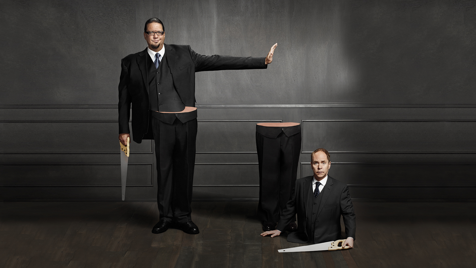 how tall is penn teller