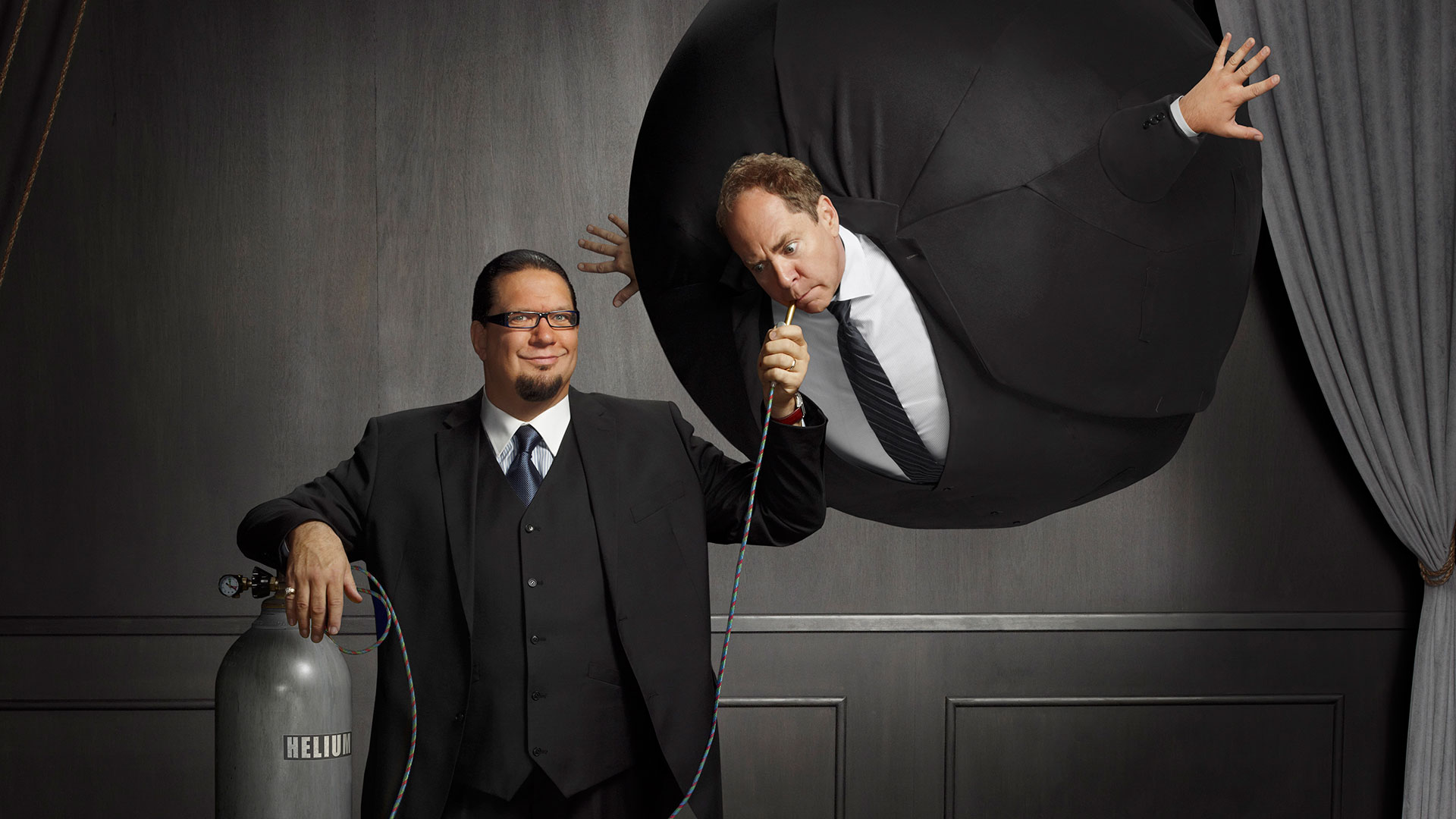 penn teller height